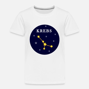 Cancer zodiac night sky stars - Kids' Premium T-Shirt