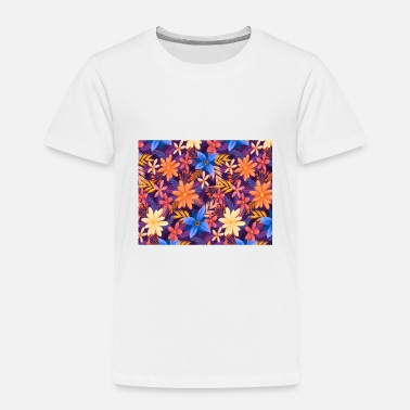 Colorful Leaves Colorful Leaves - Kids' Premium T-Shirt