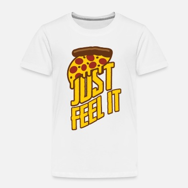 Food Great pizza, fast food - Kids' Premium T-Shirt