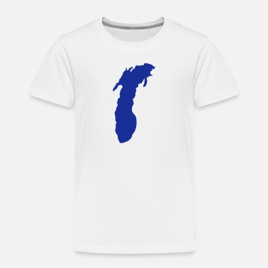 Lake Michigan Lake Michigan - Kinder Premium T-Shirt