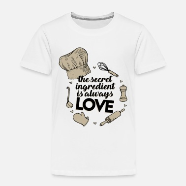 Recipe Recipe love - Kids' Premium T-Shirt