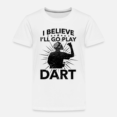 League Game Darts, Bar, League Game, Men's Night, Marriage Club, Fun - Kids' Premium T-Shirt