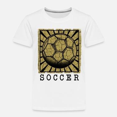 d080029c Soccer Ball Vintage Soccer Ball | Fotball ball sport gave - Premium T-skjorte  barn
