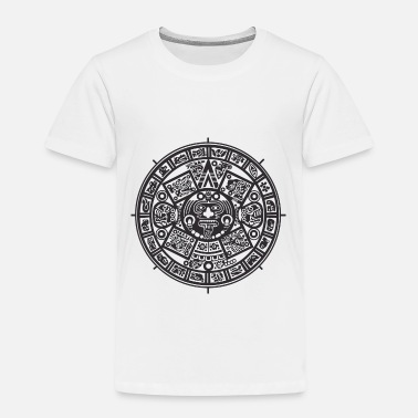 Black And White Collection Azteken - Lasten premium t-paita