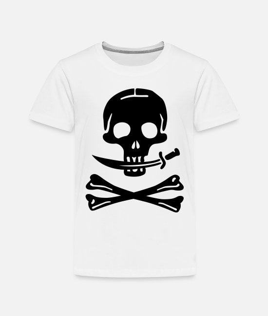 Pirate T-Shirts - Pirate Pirates Skull - Kids' Premium T-Shirt white