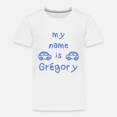 Grégory MEIN NAME IST GREGORY - Kinder Premium T-Shirt