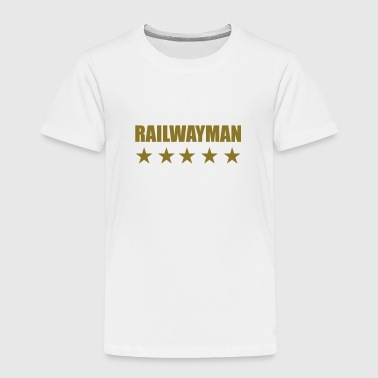 Railway Railwayman Cheminot Train Eisenbahn - Kids' Premium T-Shirt
