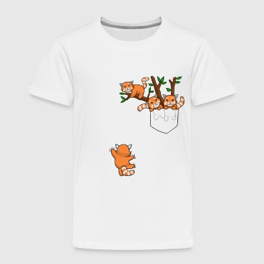 Red Panda - Red Panda cat bear, bear cat - Kids' Premium T-Shirt