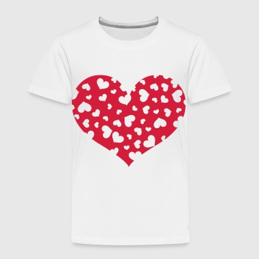 Hundreds heart - Kids' Premium T-Shirt