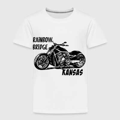 Collection moto Rainbow Bridge noir - T-shirt Premium Enfant