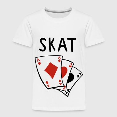Skat card game - Skat games - Skat player - Kids' Premium T-Shirt