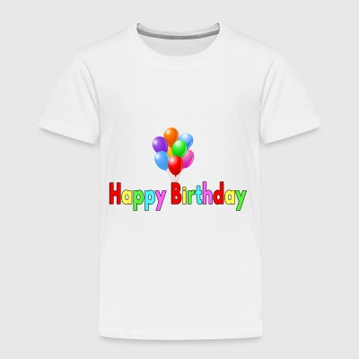 Happy Birthday - Kinder Premium T-Shirt