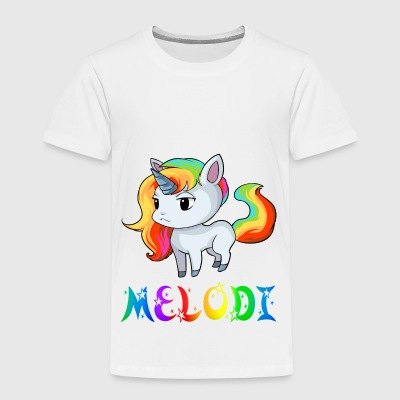 Unicorn Melodi - Premium-T-shirt barn