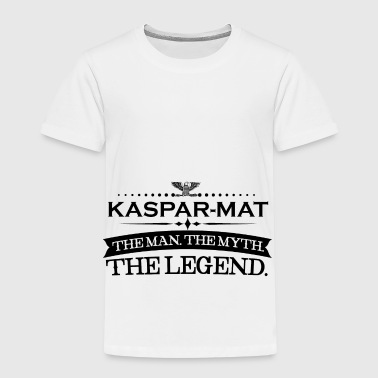 Mann mythos legende geschenk Kaspar Mathias - Kids' Premium T-Shirt