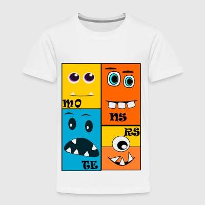 monsters - Kinderen Premium T-shirt