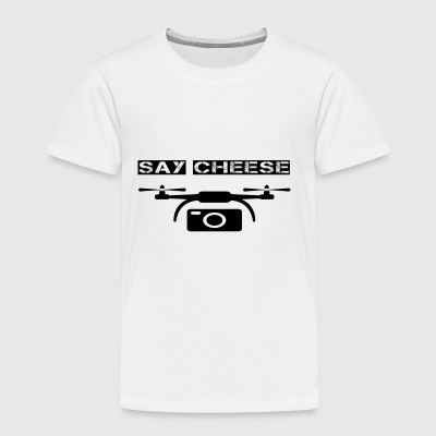 drowning drone say cheese camera photo - Kids' Premium T-Shirt