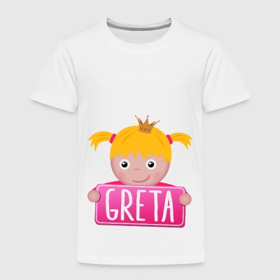 Little Princess Greta - Kids' Premium T-Shirt