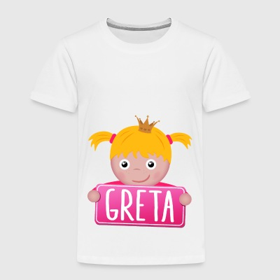 Little Princess Greta - Kinderen Premium T-shirt