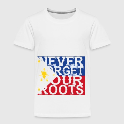 never forget roots home Philippinen - Kinder Premium T-Shirt