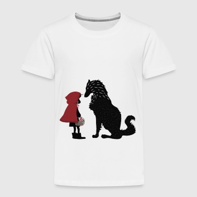 Little Red Riding Hood and the bad wolf - Kids' Premium T-Shirt
