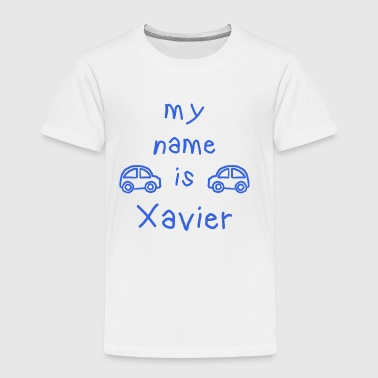 XAVIER MY NAME IS - Premium T-skjorte for barn