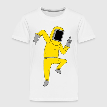 Sweary Hazmat Man - Premium-T-shirt barn