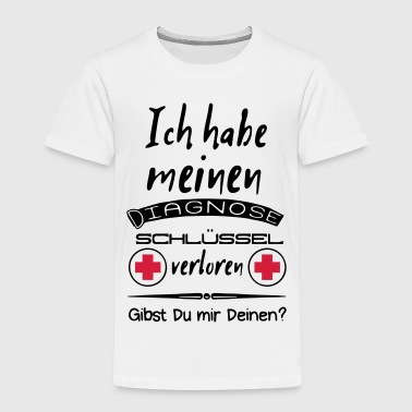 Diagnoseschlüssel Humor - Kinder Premium T-Shirt