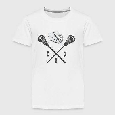 Lacrosse club helmet club team - Kids' Premium T-Shirt