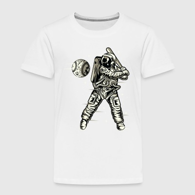 Space baseball - Premium T-skjorte for barn