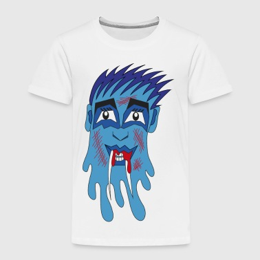blaues Monster - Kinder Premium T-Shirt