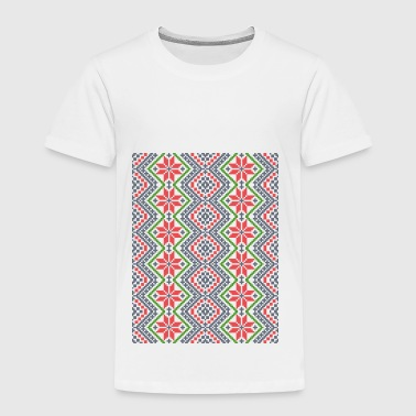 Moldavian Folk Ornament - Kinder Premium T-Shirt