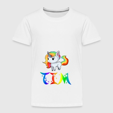 Unicorn Tim - Kids' Premium T-Shirt