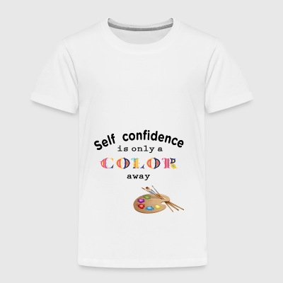 self confidence self-confidence - Kids' Premium T-Shirt