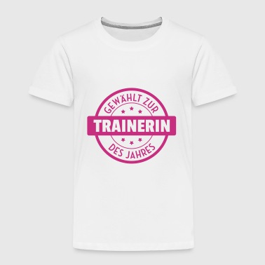 Coach / Coaching / Trainer / Sport - Kinder Premium T-Shirt