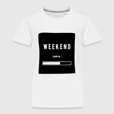 WEEKEND LADEN... - Kinderen Premium T-shirt