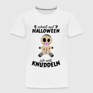 Scheiss auf Halloween - Voodoo Monster - Kinder Premium T-Shirt