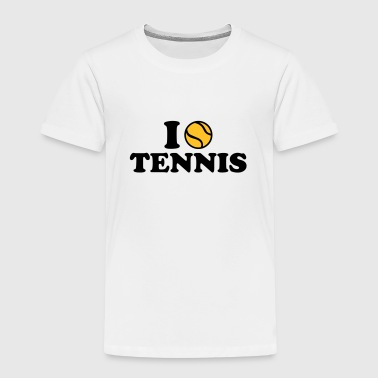 I love Tennis - Kinder Premium T-Shirt
