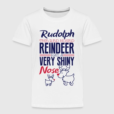 Rudolph the red nosed reindeer - Kinderen Premium T-shirt
