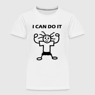 I CAN DO IT - Kinder Premium T-Shirt