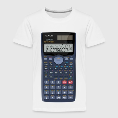Calculator math shirt - Kids' Premium T-Shirt