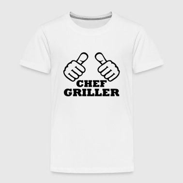 Chef Griller - Kinder Premium T-Shirt