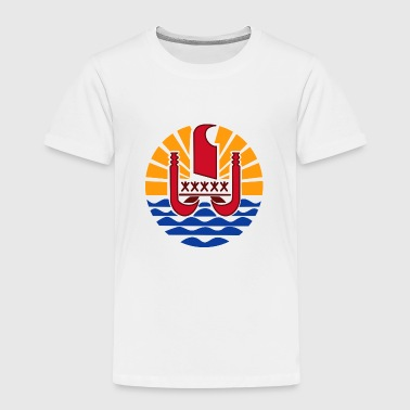 National coat of arms of French Polynesia - Kids' Premium T-Shirt