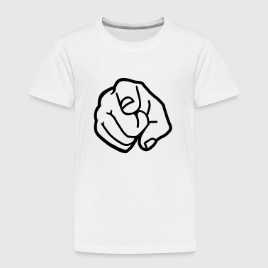 Finger - Kinder Premium T-Shirt