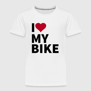 i love my bike - Kids' Premium T-Shirt
