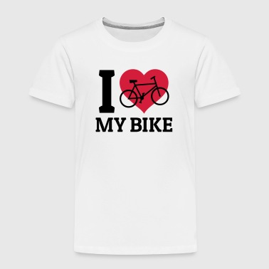 I love my bike - T-shirt Premium Enfant