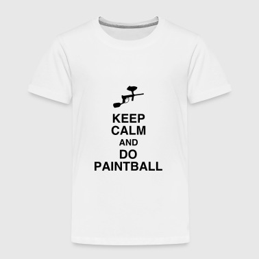 Paintball - Paintballer - Airsoft - Sport - Winner - Kids' Premium T-Shirt