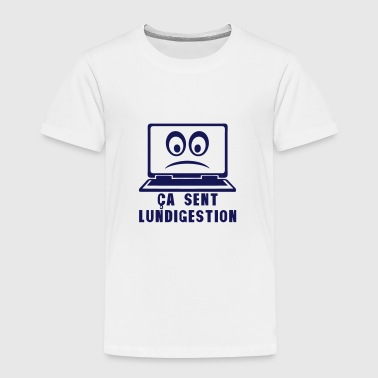 ordinateur portable lundigestion indiges - T-shirt Premium Enfant