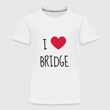 bridge / bridgeur / bridgeuse / cartes - T-shirt Premium Enfant