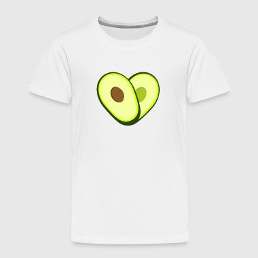 avocado heart - Kids' Premium T-Shirt