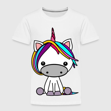 colorful Unicorn - Kids' Premium T-Shirt